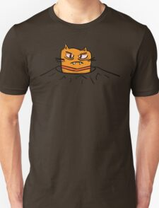 Grumpy Tunnel Cat Unisex T-Shirt
