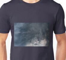 Gloomy clouds billowy sky stormy Unisex T-Shirt