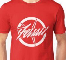 Ferrari's star (white) Unisex T-Shirt