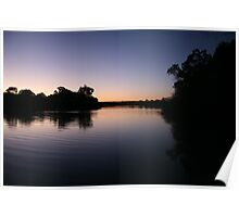 natural beauty of the murray river Poster