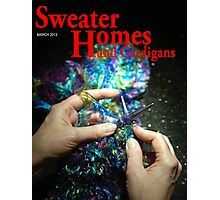 She Wanted to improve her gardening skills But She picked up Sweater Home and Cardigans by Mistake Photographic Print