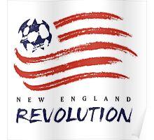 New England Revolution Poster