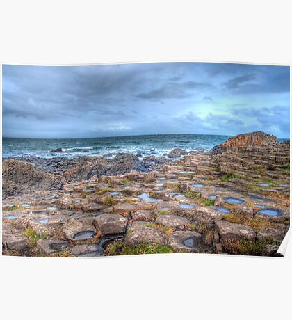 Giants Causeway Northern Ireland Poster