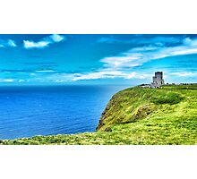 Moher Castle. Photographic Print