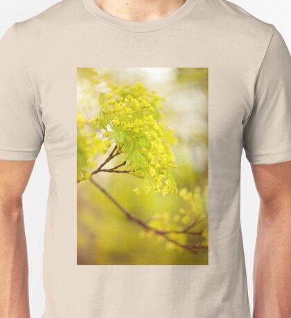 Acer flowering twigs detail Unisex T-Shirt