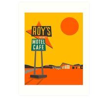 ROY'S CAFE Art Print