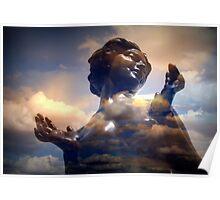 Astarte, Goddess of Love, Fertility and War. Poster