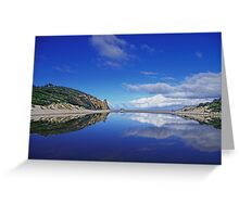 Serenity Mirror Greeting Card