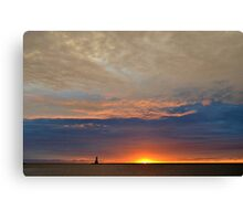 Fall Sunset 2 Canvas Print