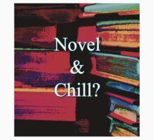 Novel & Chill? Kids Tee