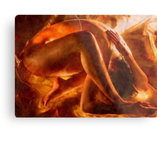 Born in fire Metal Print