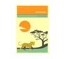 VISIT SOMALIA Art Print
