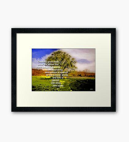 Creative Flow Framed Print