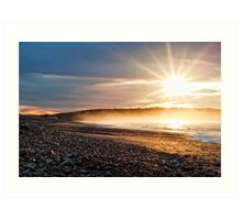 Sunrise over the Atlantic Art Print
