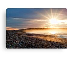 Sunrise over the Atlantic Canvas Print