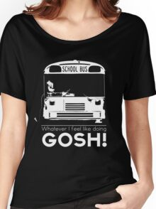 Action Figure + String + Bus = Napoleon's greatest moment Women's Relaxed Fit T-Shirt