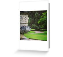 formal garden Greeting Card