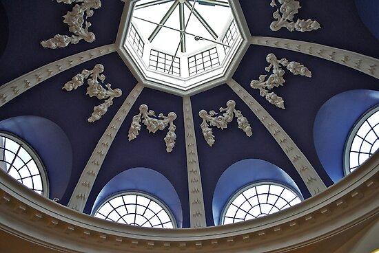 blue dome by richard  webb