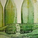 green bottles  by richard  webb