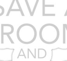 Save a Broom, Ride a Seeker Sticker
