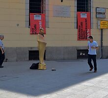 Milano Street Performer by Imagery