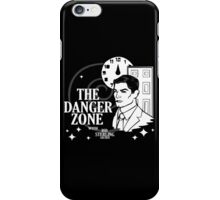 About to Enter the Danger Zone iPhone Case/Skin
