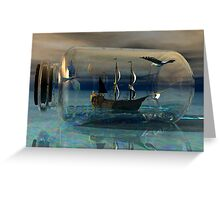 Journey on the Neverending Seas Greeting Card