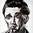 Robert Mitchum by Herbert Renard
