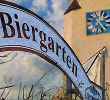 Biergarten by Shirley Radabaugh