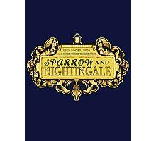 Sparrow & Nightingale  Photographic Print