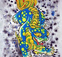 Baby Foo Blue by lucidstudioz