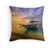 Morningtide Throw Pillow
