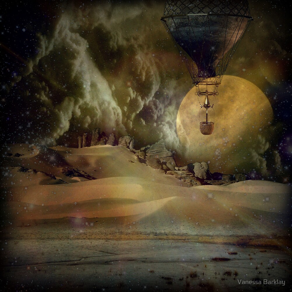 Where Dreams Exist by Vanessa Barklay