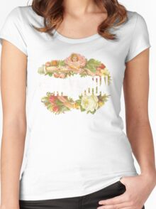 Victorian Design Women's Fitted Scoop T-Shirt