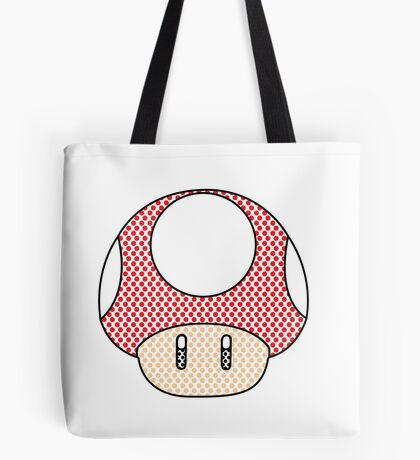 nintendo Mushroom Tote Bag