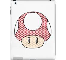 nintendo Mushroom iPad Case/Skin