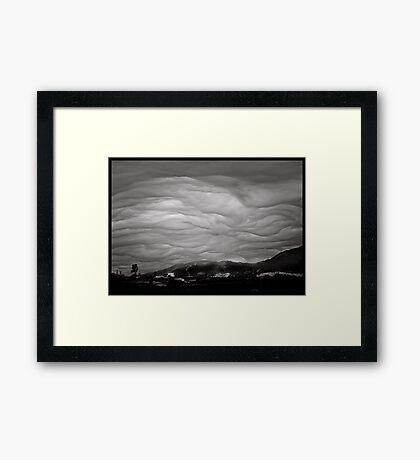 God's brush II Framed Print