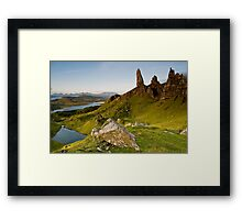 Skyes Eyes, Oldman Of Storr, Skye, Highlands Framed Print