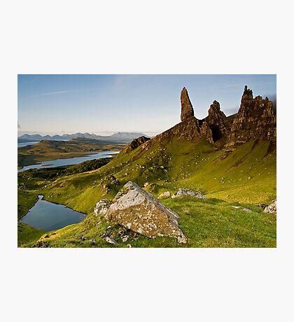 Skyes Eyes, Oldman Of Storr, Skye, Highlands Photographic Print