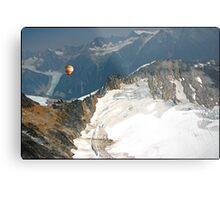 Flying the Glaciers. Metal Print
