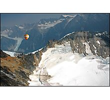 Flying the Glaciers. Photographic Print