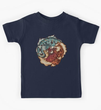 The Tiger and the Dragon Kids Tee