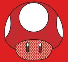 nintendo Mushroom One Piece - Short Sleeve