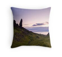 """Storr Sunrise"",Oldman of Storr,Skye,Highlands Throw Pillow"