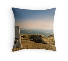Ben Rinnes And Beyond, Ben Rinnes, Moray Throw Pillow