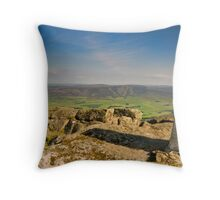 """Summit Of Speyside"" Ben Rinnes, Moray Throw Pillow"