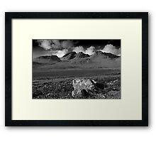 Cuillin Hills Skye,Highlands Framed Print