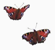Peacock Butterflies Kids Clothes