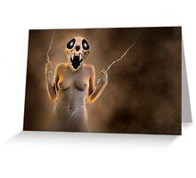 Skull Woman - Creature Greeting Card
