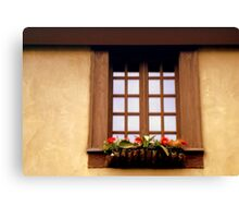 CHATEAU WINDOW ^ Canvas Print